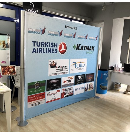 CENTRO STAND BANNER 225X200CM