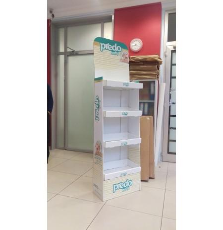 Karton Stand Raflı - 06