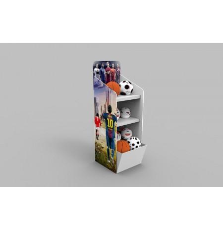 Karton Stand Raflı - 05
