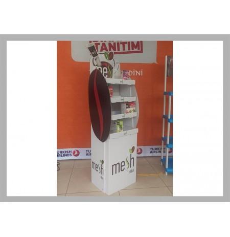 Karton Stand Raflı - 03