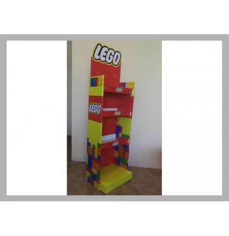 Karton Stand Raflı - 08
