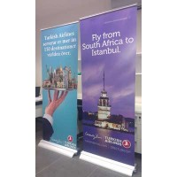 80X210CM LUX ROLL UP BANNER