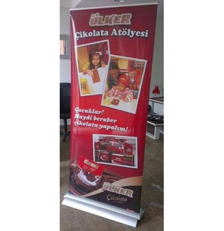 LUX ROLL UP BANNER 85X210CM
