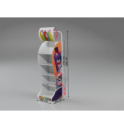 Metal Stand Raflı - 06