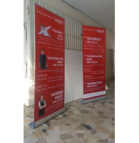 Lux Roll Up BANNER 80X200CM