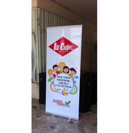 Roll Up Banner - 80X200