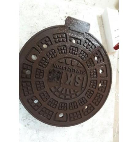 Strafor Köpük 2D - Kanalizasyon Kapağı Projesi -04
