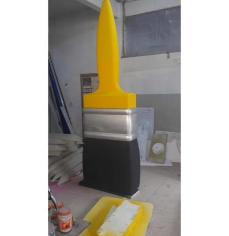 Strafor Köpük 3D - Boya Fırçası -04