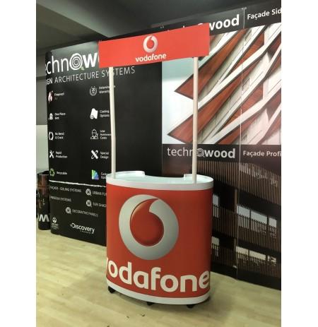 Vodafone Standı Oval